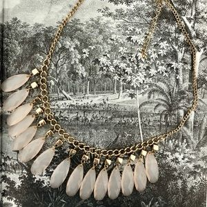 Statement Necklace Blush Pink